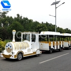 Interesting park rides equipment electric trackless train land train for sale