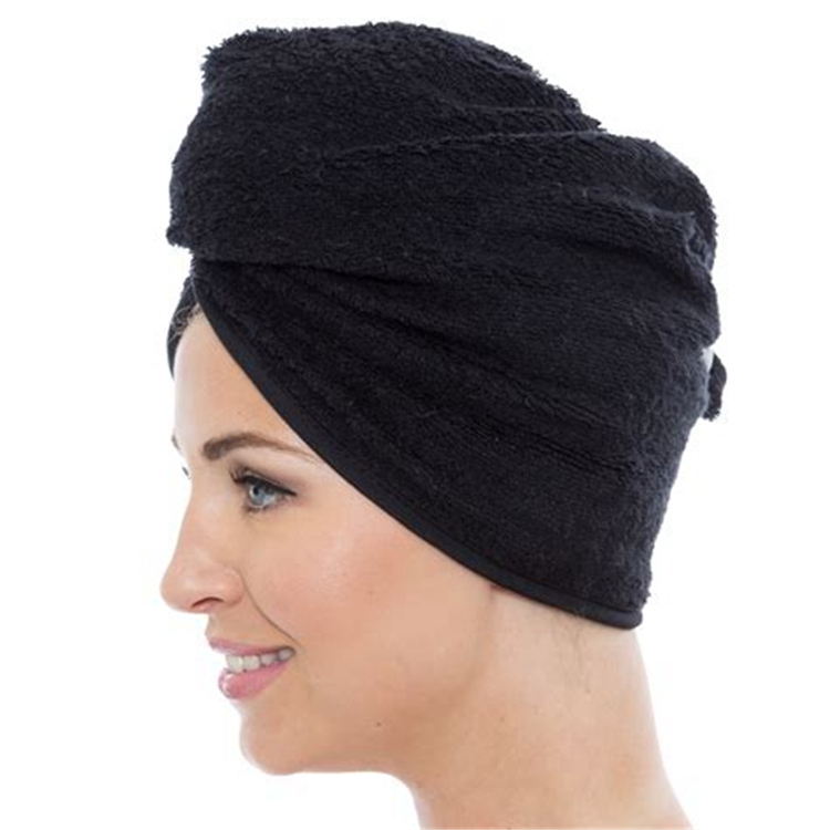 High Absorbent Bamboo Head Towel Turban Barber Hair Towel Wholesale