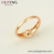 15928 xuping jewelry luxury design 18K gold-plated single stone ring with letters ''xp''