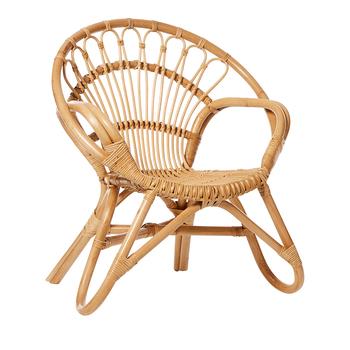 Vintage Wicker Kid Chair View