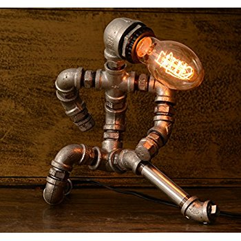 Metal Pipe Design Table Lamp Antique Iron Frame Style Lamps Product On