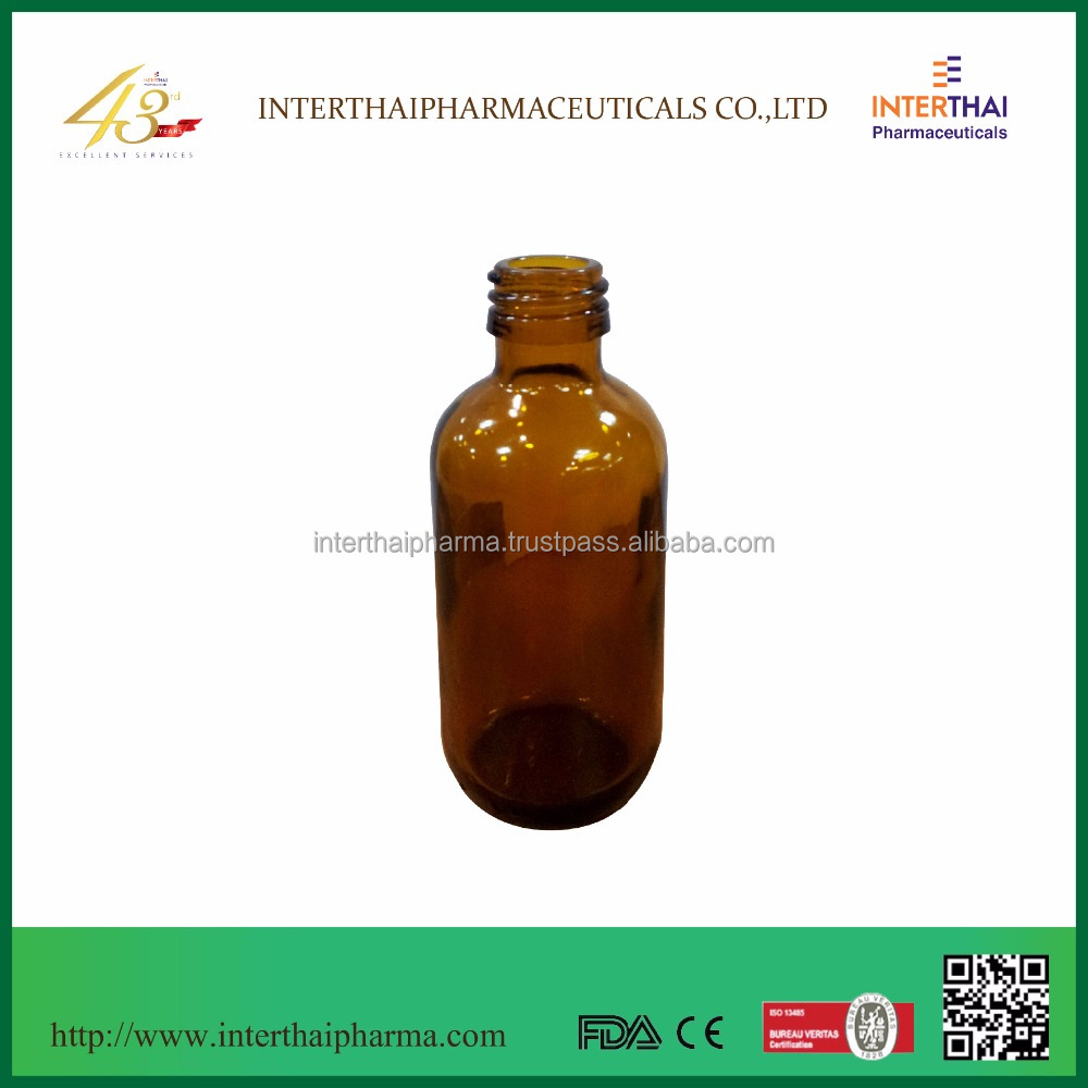 Amber Glass Bottle 60 ml