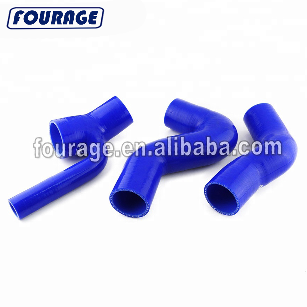 1 Metre Reinforced Boost Pipes for Automotive Applications Silicone Hoses