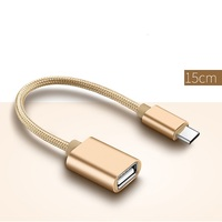 Type C to USB adapter, Type C to OTG Cable USB Converter for New Macbook Air to Keyboard