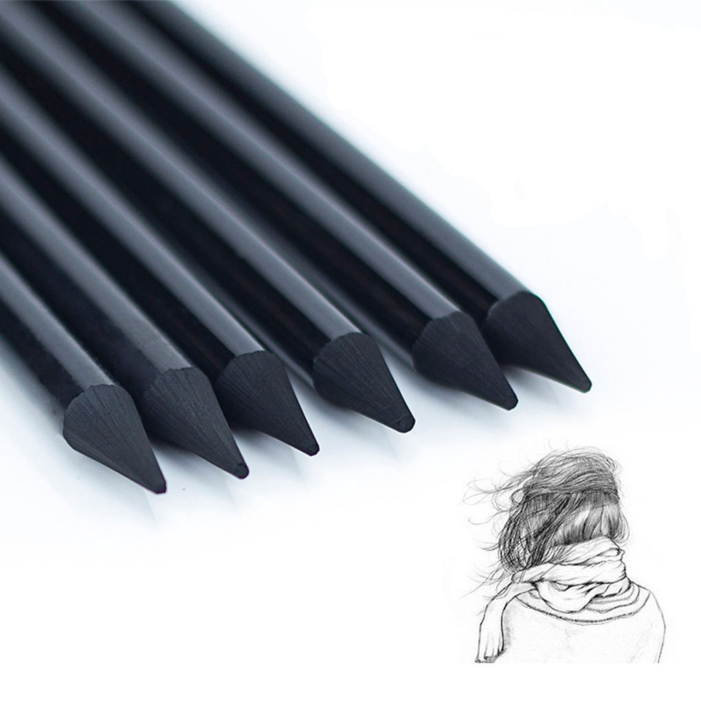Buy artist woodless charcoal pencils professional manga non