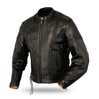 New Fashion Winter Leather Jackets For Men | Custom Made Black Leather Jacket
