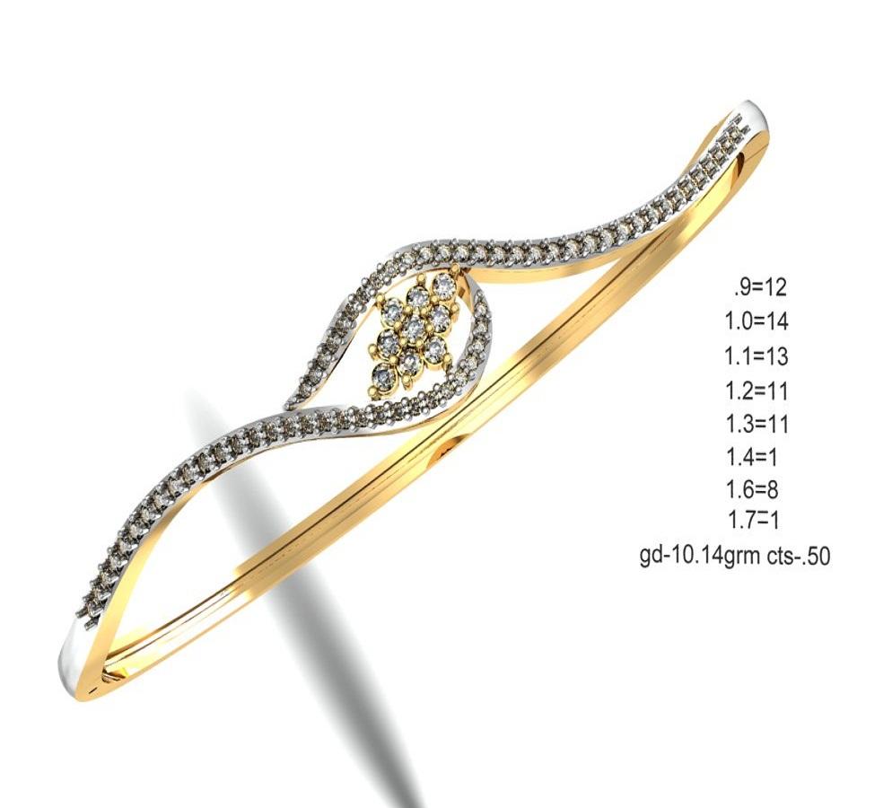 New Design 18 K Gold Bracelet For Women