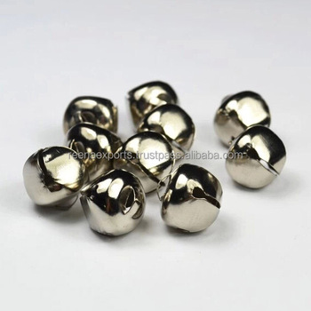 nickel color shiny cross jingle bells buy small jingle bells large
