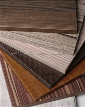 Medium Density Fiberboard For Furniture Use Melamine Laminated Mdf Wood