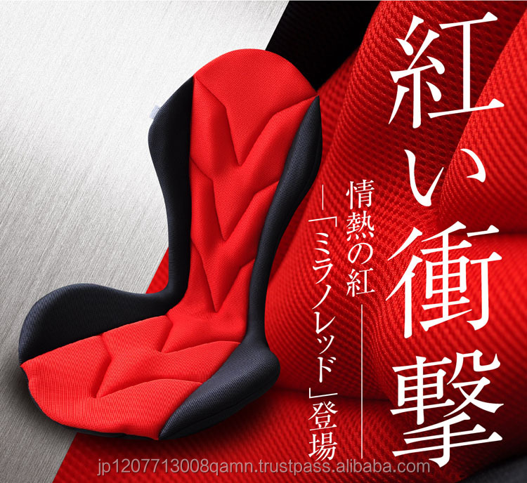 100%Polyester 3D mesh fit the body design 0 burden car seat cushion