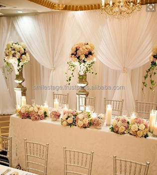 Wholesale Canopy Weddings Pipe And Drape For Decoration Wedding Party White Backdrop
