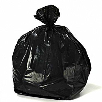 Plastic Black Garbage Thrash Bags Product On Alibaba