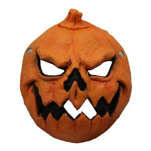 Wholesale High-Quality 100% PU Foam Halloween Carnival Party Custom Halloween Pumpkin Mask