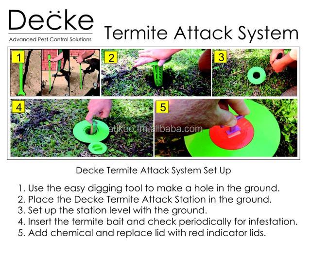 Decke Termite Control Stakes Buy Termite Product On Alibaba Com