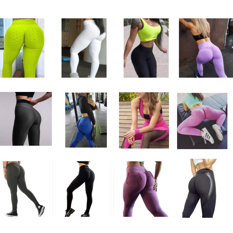 High Waist Push Up Compression Fitness Gym Yoga Pants Leggings