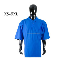 Hot selling korte mouw mannen sport golf polo shirt custom polo vlakte