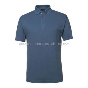 Export Quality Plain Short Sleeve Polo Shirts for Men,high quality 100% cotton plain sport polo t shirt for men