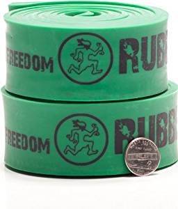 Pair of Rubberbanditz 41 inch Continuous Loop Recovery Rehab Therapy Bands