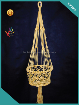 Export To Australia Top Model 2017 Large Macrame Pot Planters Hanging  Basket - Buy Macrame Plant Hanger Nz,Wholesale Macrame Planter Hanger