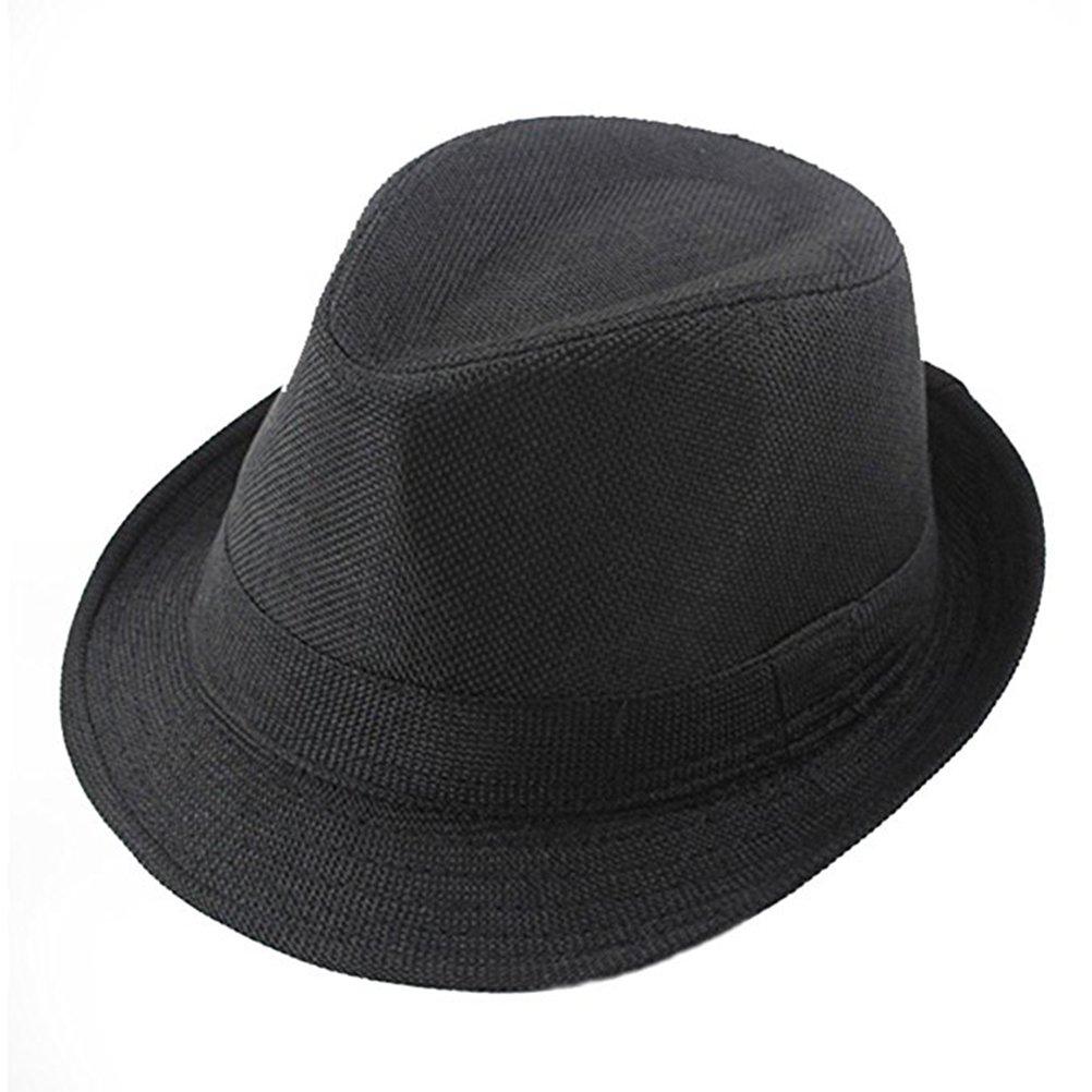 600bc5128dc15 Get Quotations · Tinksky Children Fedora Hats Gentleman Kids Dancing  Performance Cap Hat for Head Girth of 56-