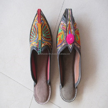 Indian Ethnic Bridal shoes-Indian Handmade Khussa Mojari -Kutchhi style Wedding Partey wear Juti shoes/mojari/khussa