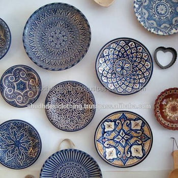 Exclusive Handmade Jaipur Blue Pottery Dishes Home Decor Ideas Buy