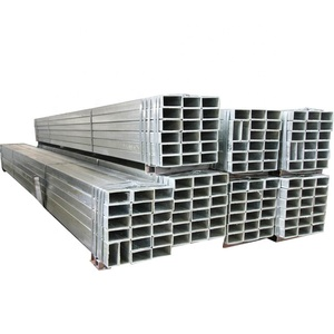 hollow iron galvanized steel pipe 2x2 square tubing prices