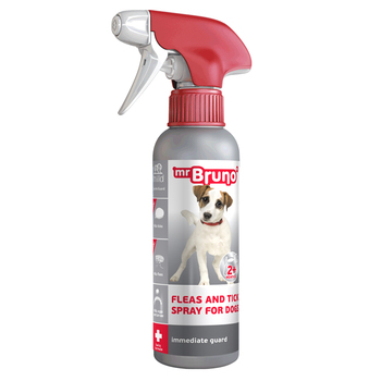 "High quality product for pets, Flea & Tick Spray Mr. Bruno Plus ""Gentle Protection"""