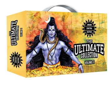 The Ultimate Collection I Comics by Amar Chitra Katha ( Epics ,Visionaries, History, Indian Classic,Mahabharata,Fables & Humour)