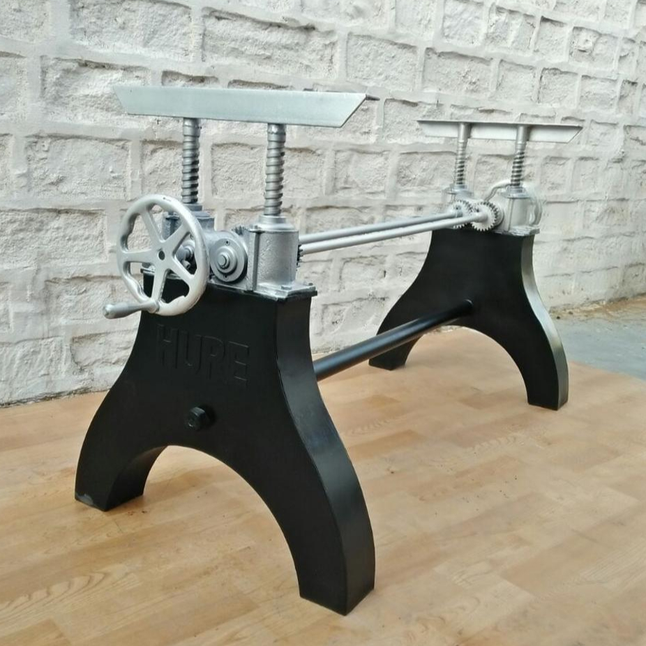 Hure Crank Table Base Dining Product On Alibaba