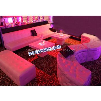 Hochzeit Empfang Lounge Möbelkristall Geschnittene Leder Tufted Stühlemoderne Stil Indische Hochzeit Leder Sofa Buy Hochzeit Leder Tufted Paneele