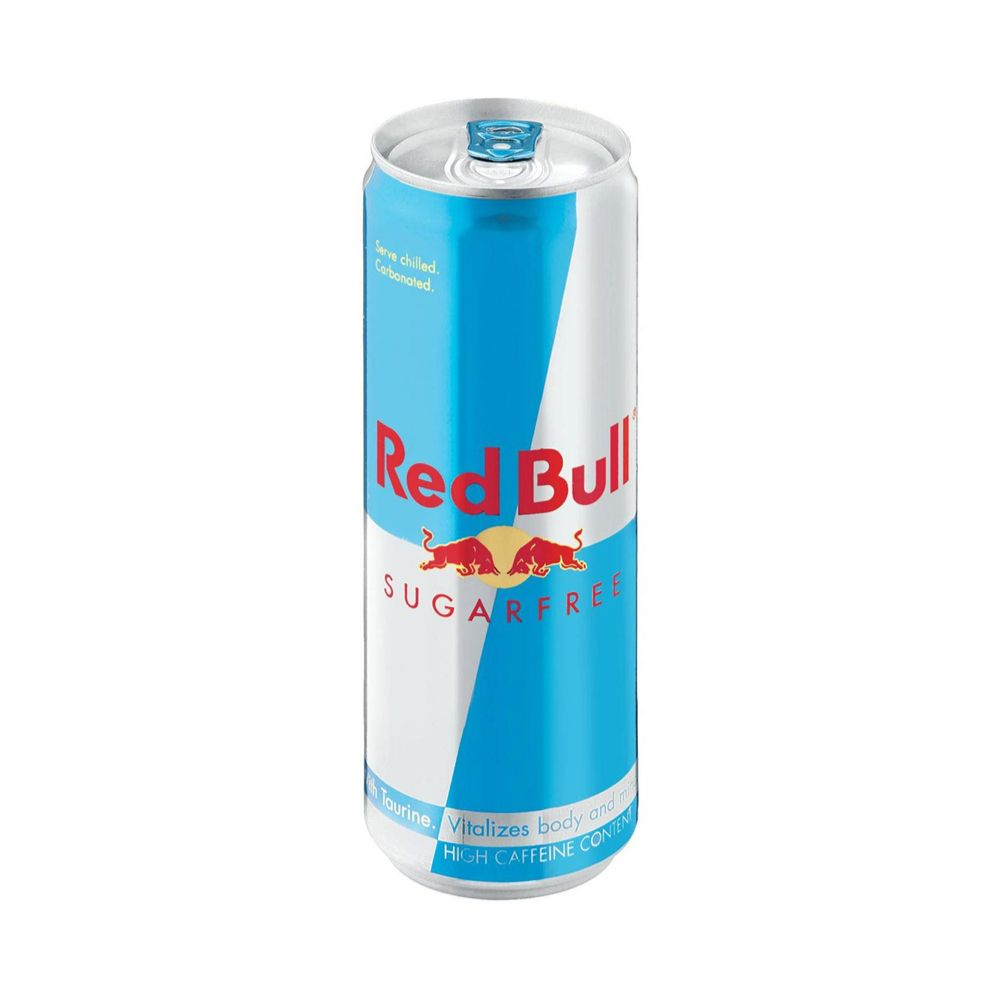 what is in red bull sugar free