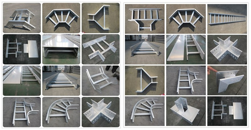 Shanghai Manufacturers New Type Cable Tray Ladder Rack