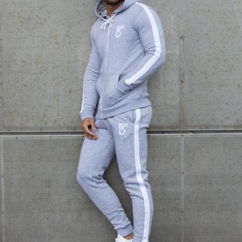 2020 super günstig im vergleich zu beste Auswahl an Long Sleeve Pullover Slim Fit Men Tracksuit With Stripe - Buy Plain  Tracksuit,Warm Tracksuit,White Tracksuit Product on Alibaba.com