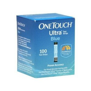 One Touch Ultra Test Strip Blue 100 Count CT