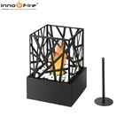 Inno living TT-31 black/grey mini chimenea metal halloween decorations