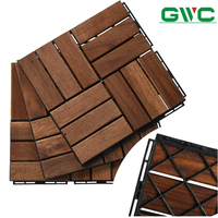 High Quality Wooden Decking for Garden Decoration