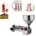 Small scale One Head semi automatic bottle liquid Paste filling machine for cosmetic cream with certificate