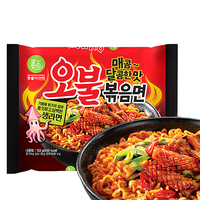 Spicy squid rosted Instant noodle ramen