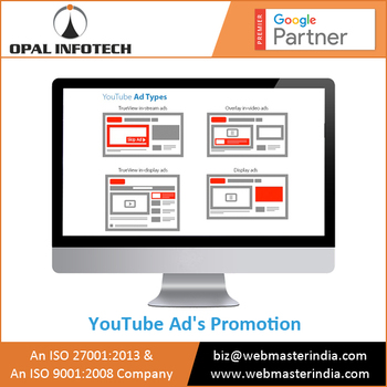 Grab Opportunity to Hire YouTube Advertising Promotion Service Provider At Market Rates.