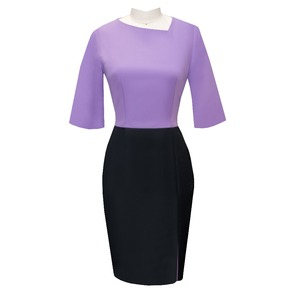 Stylish Professional Custom Ladies Bank Workwear Women Dress Uniform Designs