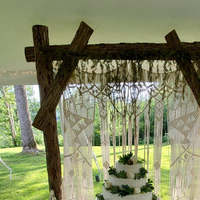 Simple Curtain Design Home Living Room Hanging Woven Large Macrame Curtain