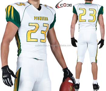 a19d1d1da sublimation custom design american football uniforms  High Quality Custom  Made American Football Jersey