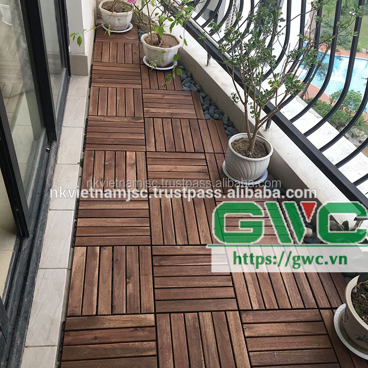 Easy Installation Diy Decking Tile Made