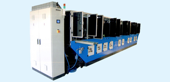 Bottle UV screen printing machine - High speed, Fully Automatic