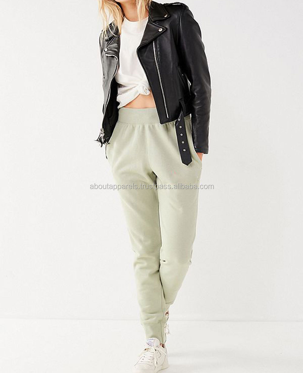 OEM Service Supply Type Jogger Women Wholesales 100% Cotton Sweatpants