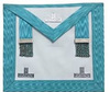 Craft Master Mason Apron | Hand Embroidery Regalia Masonic Master Craft Apron