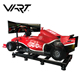 VART Attractive VR F1 Driving Simulator with 3 Screens Special Effect Virtual Reality Car Racing Machine
