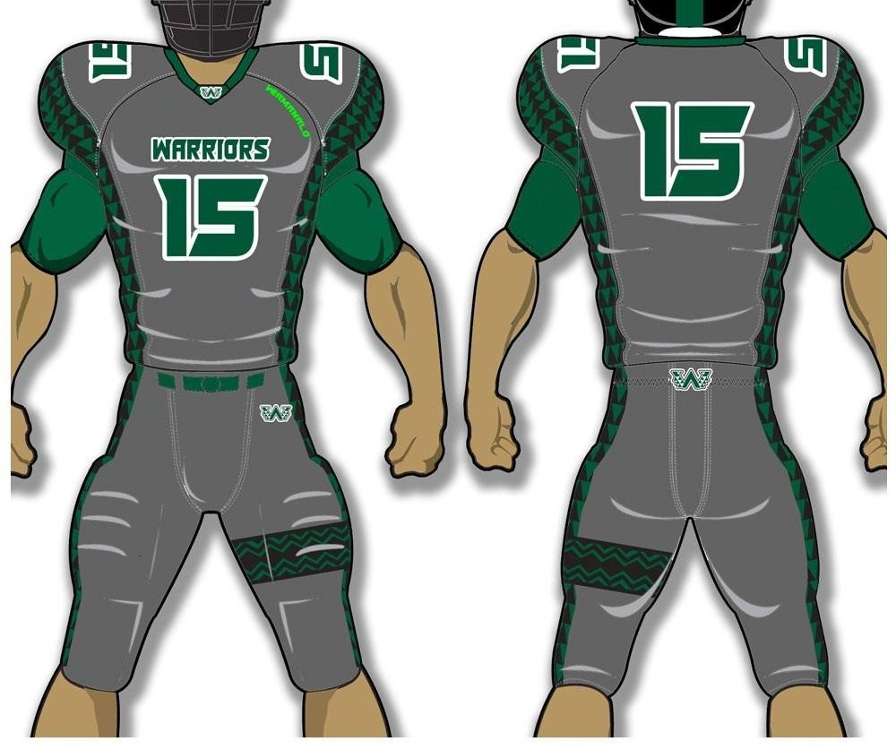 world league of american football uniforms, american football uniform price, american football uniform cost