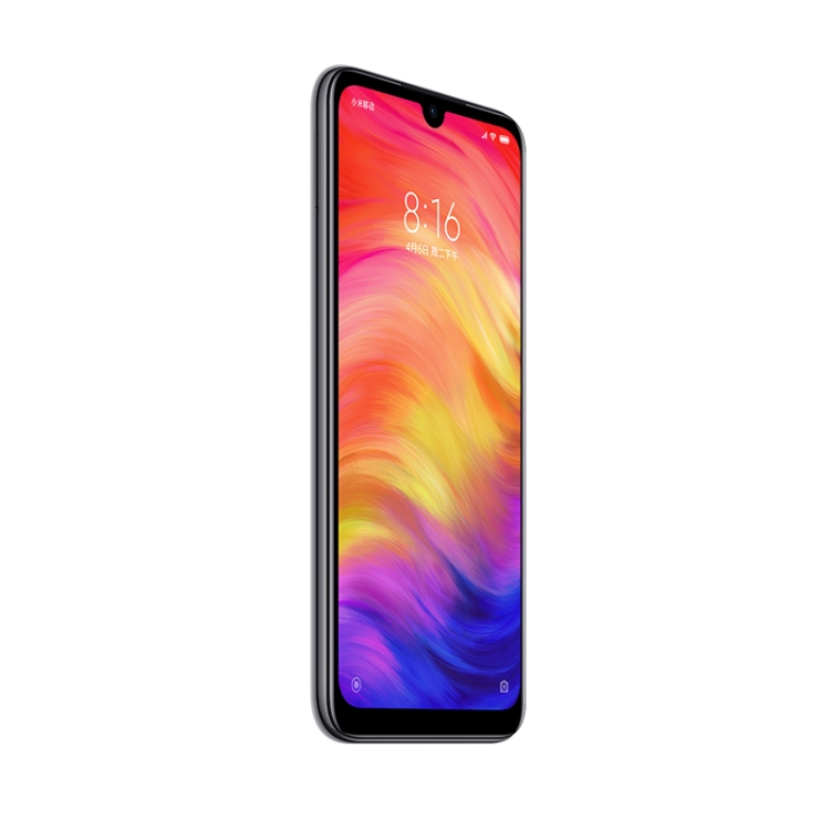 Good Price Xiaomi Redmi Note 7 Mobile Phones, 48MP Camera 4GB+64GB Smartphone Global Official Version Unique Smartphone Products, Black